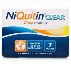 Niquitin Cq Clear 21mg Step One