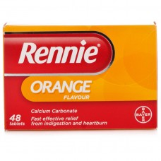Rennie Orange 48 tabs