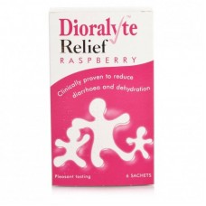 Dioralyte Relief Sachets Raspberry 6s