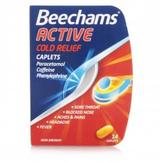 Beechams Active Cold Relief Caplets 14caplets