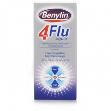 Benylin 4 Flu Liquid 200ml