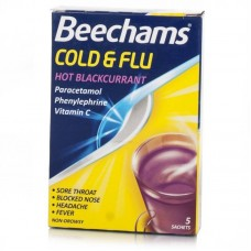 Beechams Cold & Flu Blackcurrant