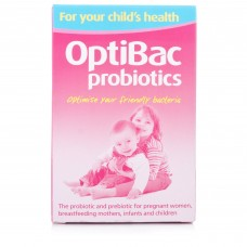 Optibac probiotics for your childs health 30sachets