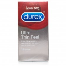 Durex Ultra Thin Feel Condoms x12