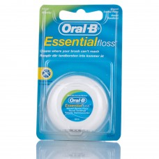 Oral-B Essential Waxed Dental Floss Mint