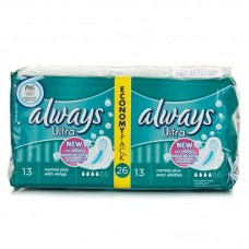 Always Ultra Protection Normal Plus With Wings Jumbo Pack