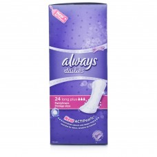 Always Dailies Pantyliners Long Plus