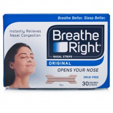 Breathe Right Regular Normal Nasal Strips Tan