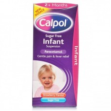 Calpol Sugar Free Infant Suspension Liquid 2+ Months