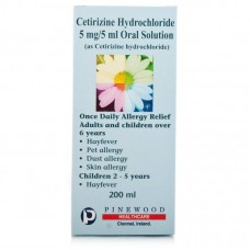 Allergy And Hayfever Relief 5mg/5ml Oral Solution