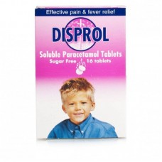 Disprol Soluble Paracetamol Tablets Sugar Free