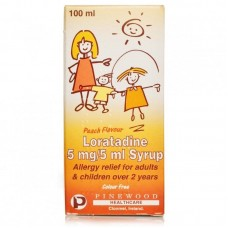 Hayfever Relief 5mg/5ml Syrup For Children (Benadryl Equivalent)