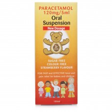 Paracetamol 120mg Oral Suspension For Babies & Children 3 Months+