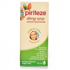 Piriteze Once A Day Allergy Syrup