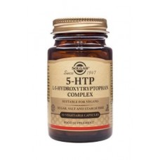 Solgar 5-HTP L-5-Hydroxytryptophan Complex Vegetable Capsules