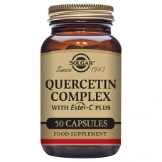 Quercetin Complex with Ester-C Plus Vegetable Capsules-Pack of 50