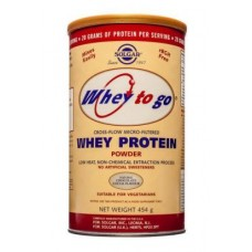 Solgar Whey To Go® Whey Protein Powder Natural Chocolate Flavour 1162g