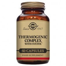 Solgar Thermogenic Complex with Svetol - Weight Loss - 60 Vegicaps