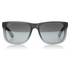 Ray-Ban 4165 Justin Rubber Grey / Transparent 852/88 55mm