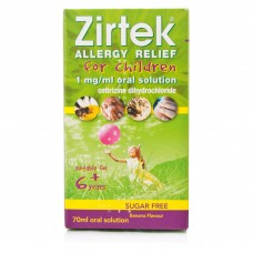 Zirtek Allergy Relief For Children 6+