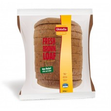 GLUTAFIN GLUTEN FREE SELECT FRESH BROWN LOAF - SLICED