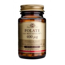 Solgar Folate 400 µg (as Metafolin®) Tablets