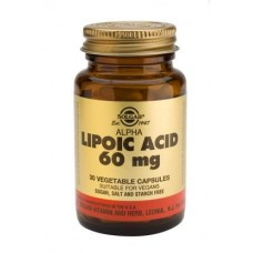 Solgar Alpha Lipoic Acid 60 mg Vegetable Capsules